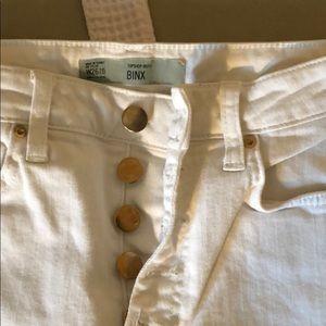 TopShop BINX white jeans